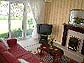 Pine Grove holiday cottage lounge